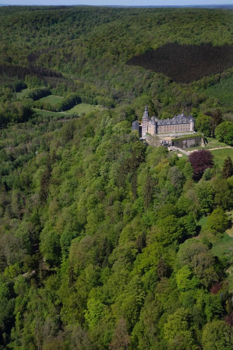 Château de Mirwart_luchtfoto_Tom_d'haenens