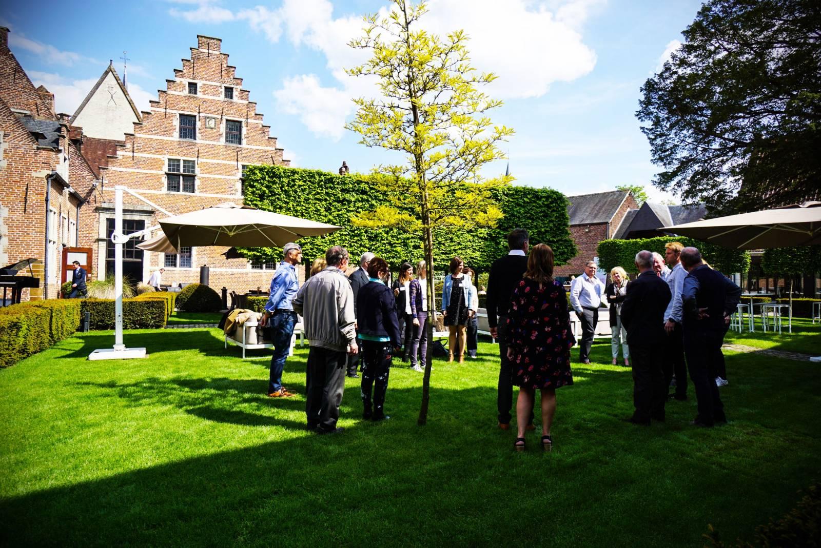Faculty Club - Feestzaal te Leuven - Eventlocatie - GARDEN LOUNGE MEI 2019 - House of Events - 2