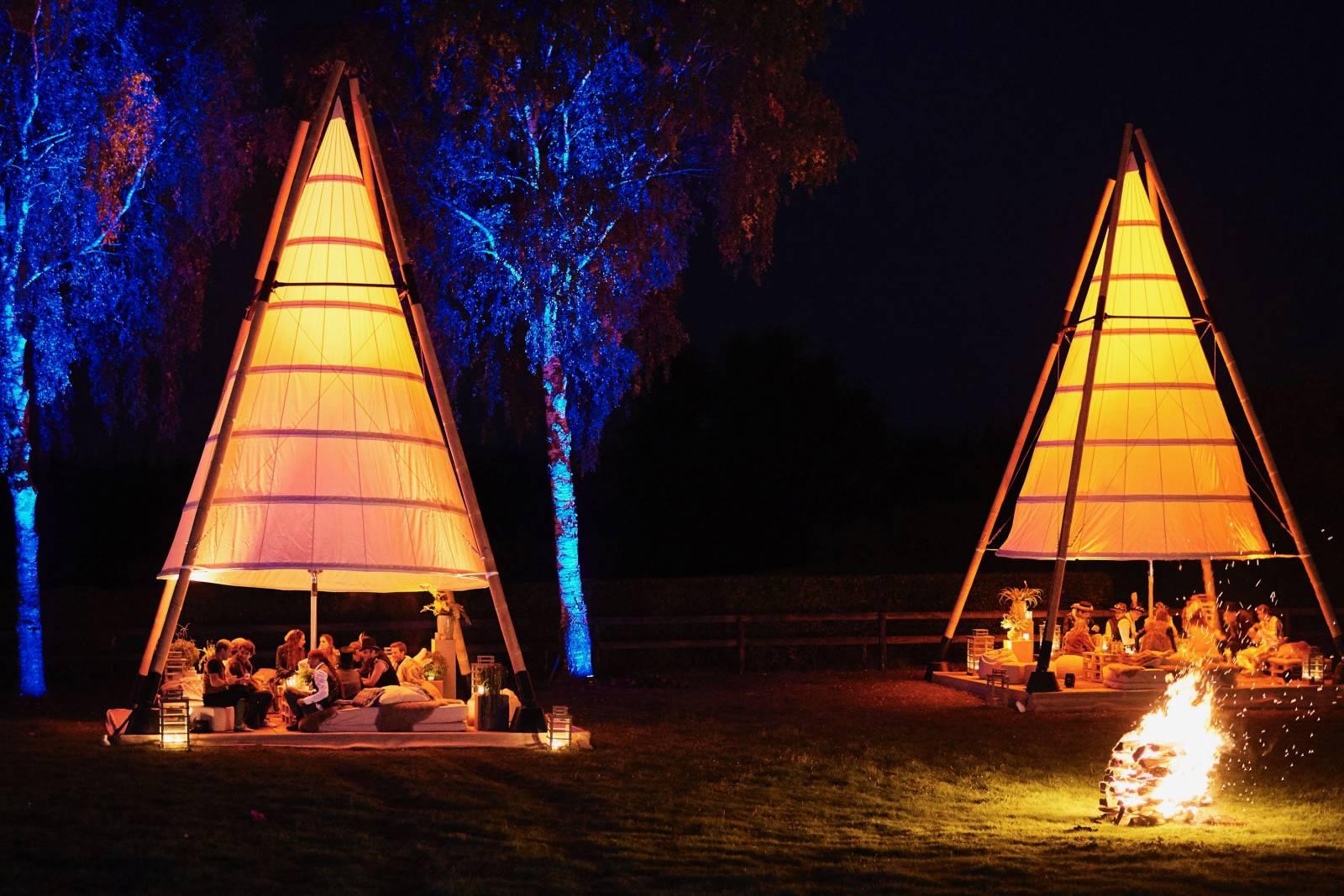 Organic-Concepts - Event Tenten - Feesttenten - Verhuur tenten - Bamboo Tipi - House of Events - 2