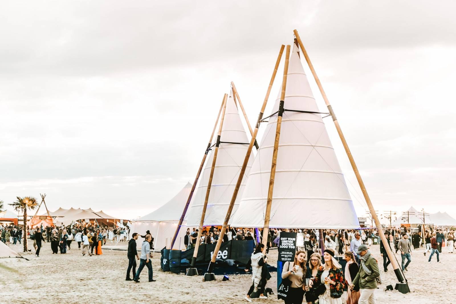 Organic-Concepts - Event Tenten - Feesttenten - Verhuur tenten - Bamboo Tipi - House of Events