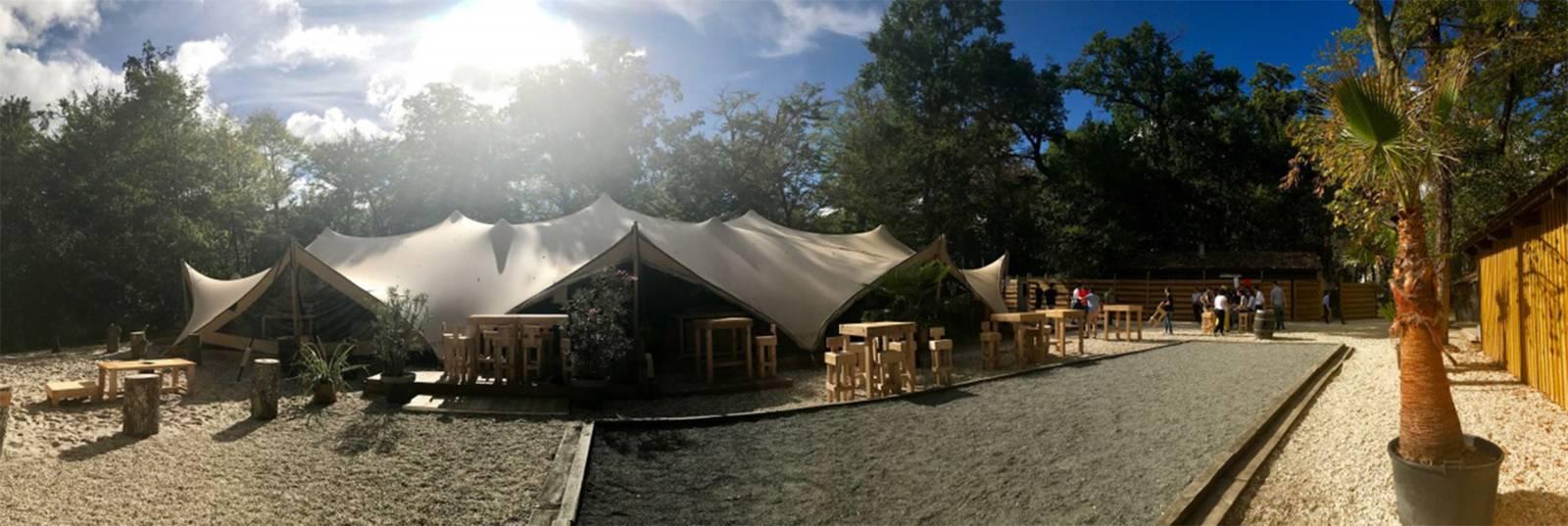 Organic-Concepts - Tenten - Feesttenten - Verhuur Tenten - Stretch - White Cloud Tent 600m2 - House of Events - 1