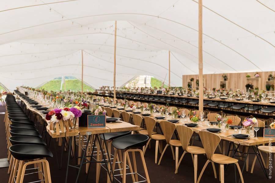 Organic-Concepts - Tenten - Feesttenten - Verhuur Tenten - Stretch - White Cloud Tent 600m2 - House of Events - 3