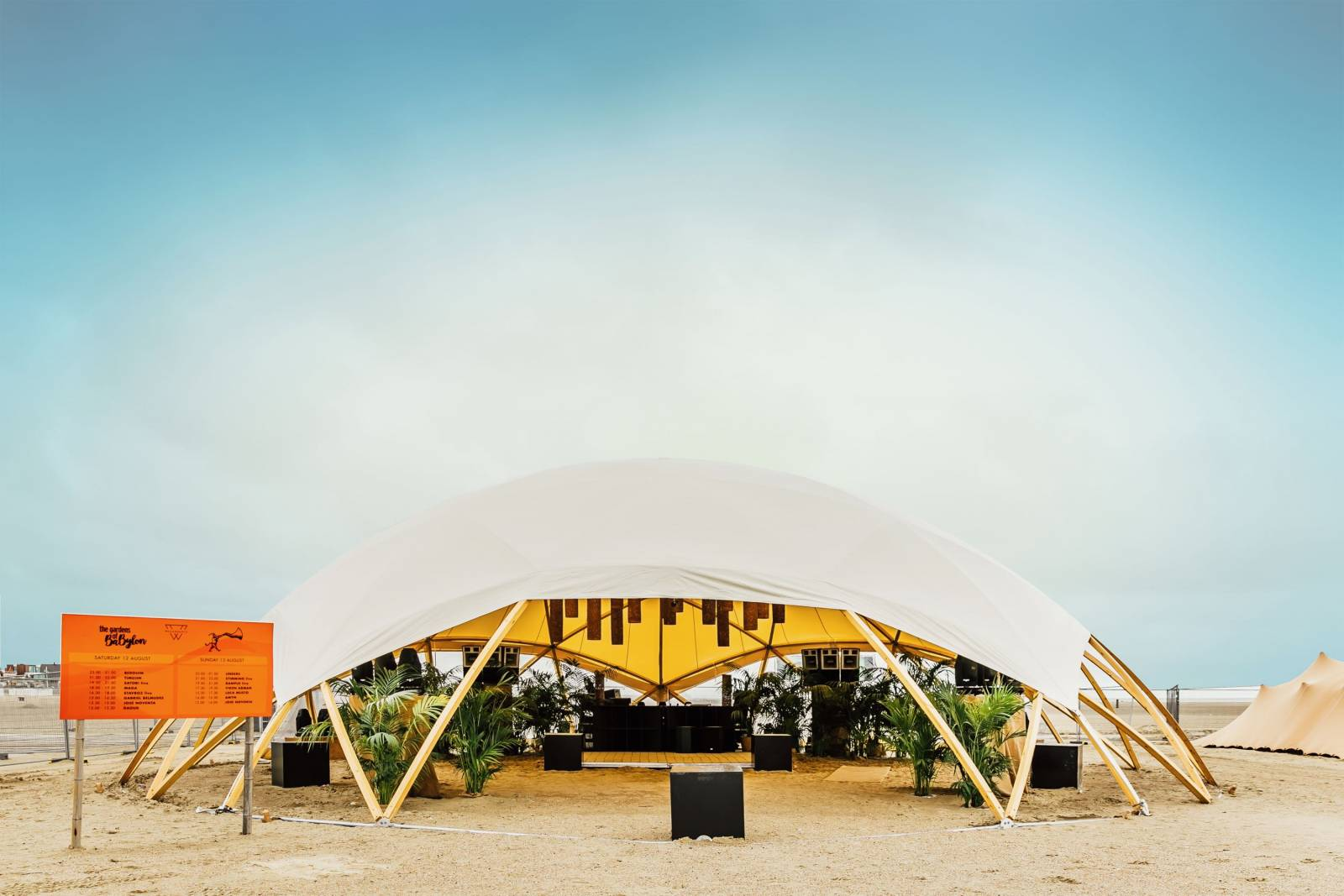 Organic-Concepts - Tenten - Feesttenten - Verhuur Tenten - Wooden Flat Dome - House of Events - 1