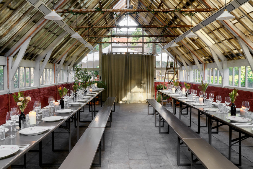 Alix ∙ Table & Jardin d'Amis